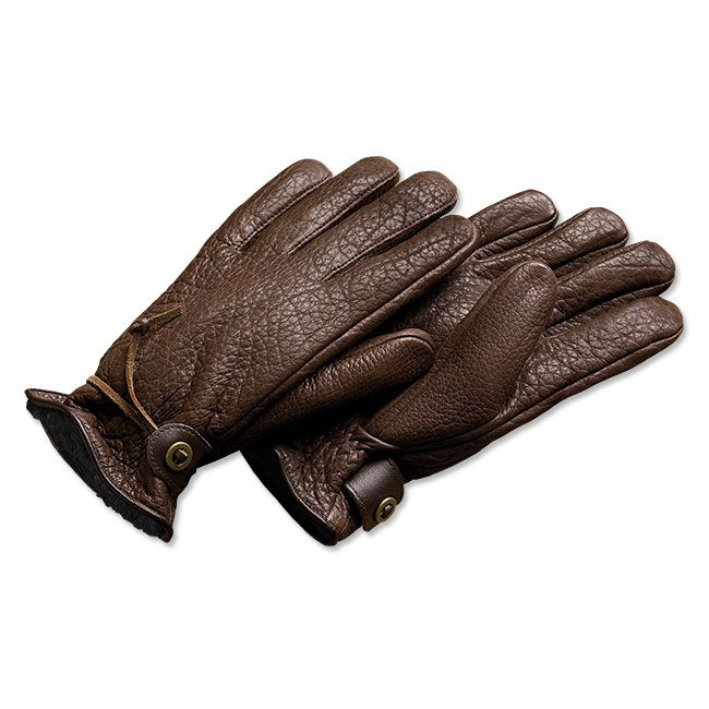 Bison Leather Winter Gloves Soft, supple and wonderfully