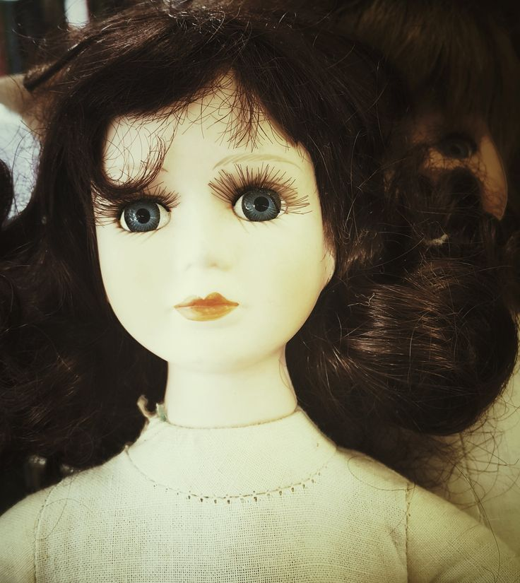 'Jaclyn', Charity shop doll.