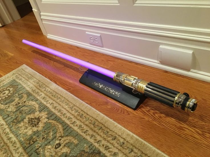 STAR WARS Mace Windu Purple Force FX Lightsaber Replica - RARE Collectible Item | Collectibles, Science Fiction & Horror, Star Wars | eBay!