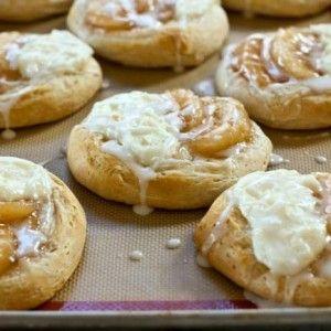 Apple Pie Danish Biscuits