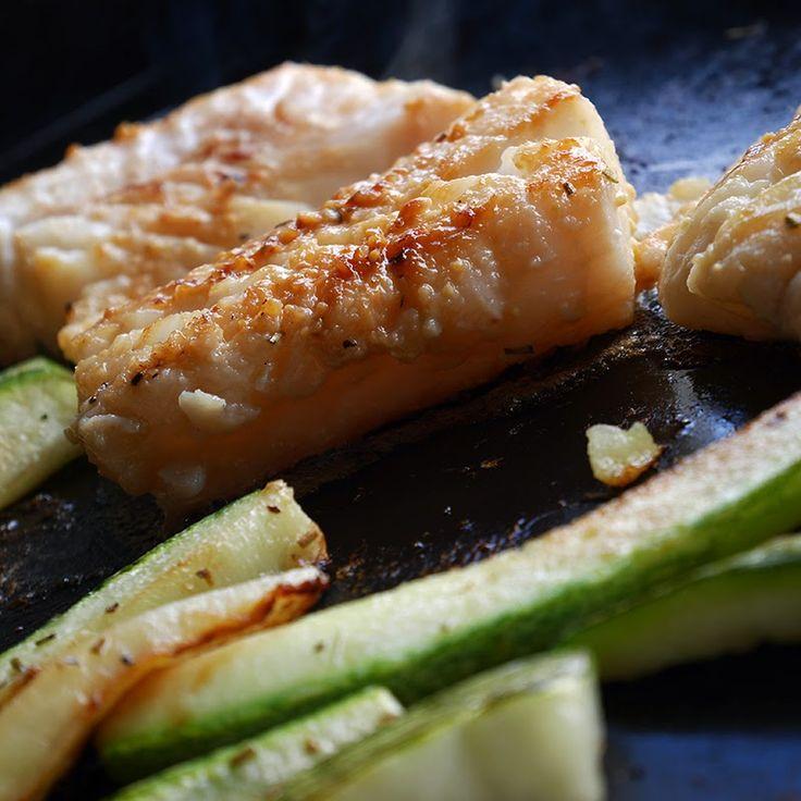 Pavé de cabillaud Miso-Mirin à la plancha | Verveine Pêche