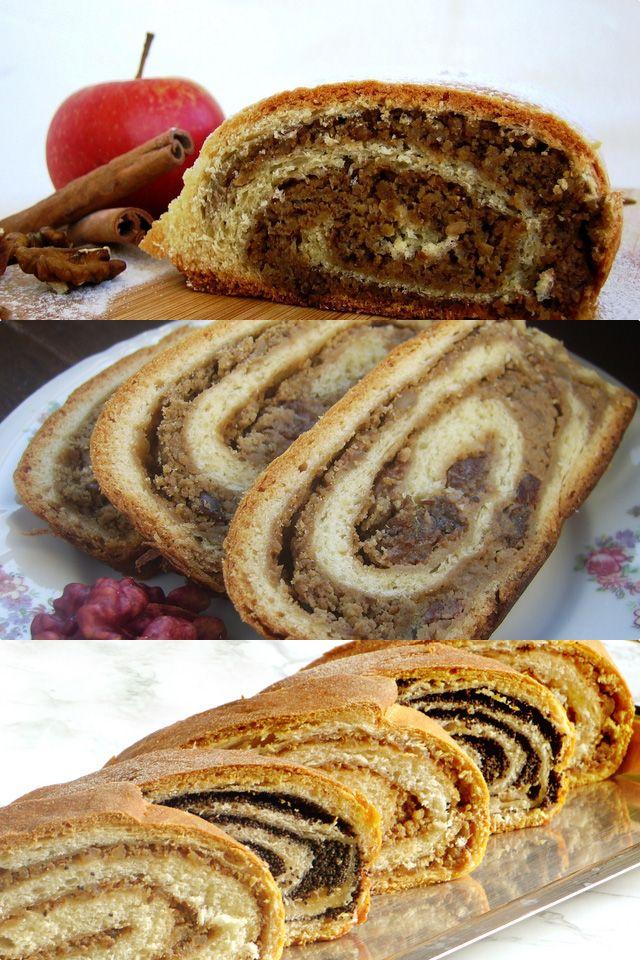 Best Recipes from The Balkans Countries CROATIA: Walnut Bread Roll Recipe (Croatian Orahnjaca) Recipe