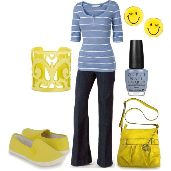 OutfitFun Yellow, Totally Brightening, Cheer Yellow, Fashion Style Accessories, Wear, Outfit No Yellow, Imaginary Closets, Dreams Closets, Yellow Accents Cuuuut