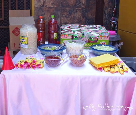 My hobby My Art: Minion Girl Birthday Party!!!!Minion Candy Bar Ideas!! Tostilocos