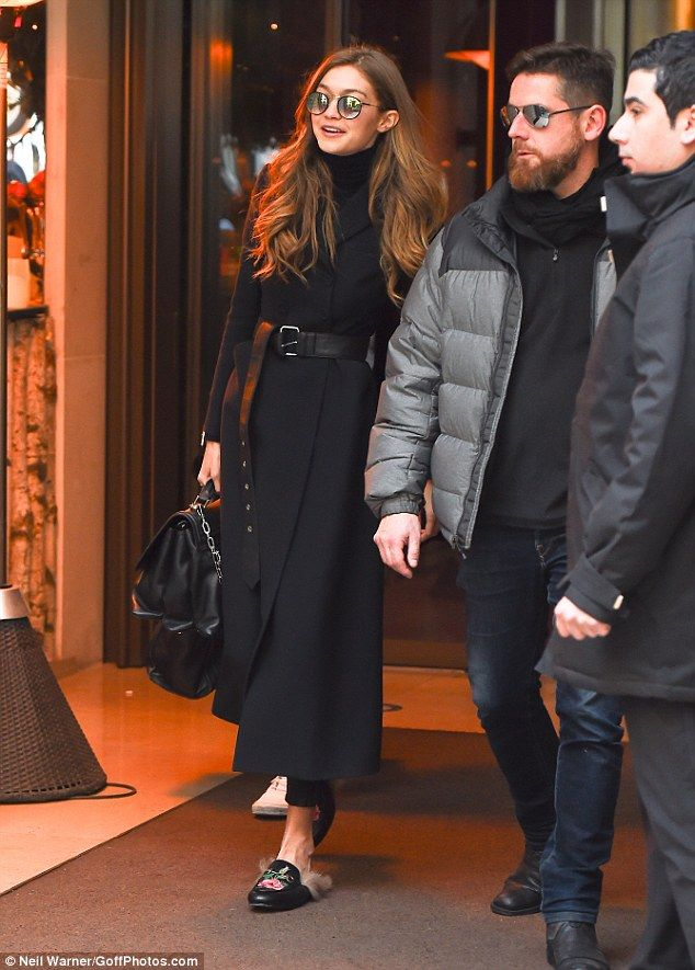 Steal Gigi's style with her Guci loafers #DailyMail Click 'Visit' to buy now