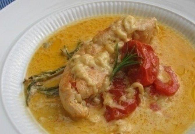 Rozmaringos csirke cserépedényben sütve recept képpel. Hozzávalók és az elkészítés részletes leírása. A rozmaringos csirke cserépedényben sütve elkészítési ideje: 95 perc