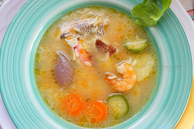 Kitchen Stories: Greek Traditional Fish Soup