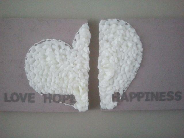 Love hope happiness