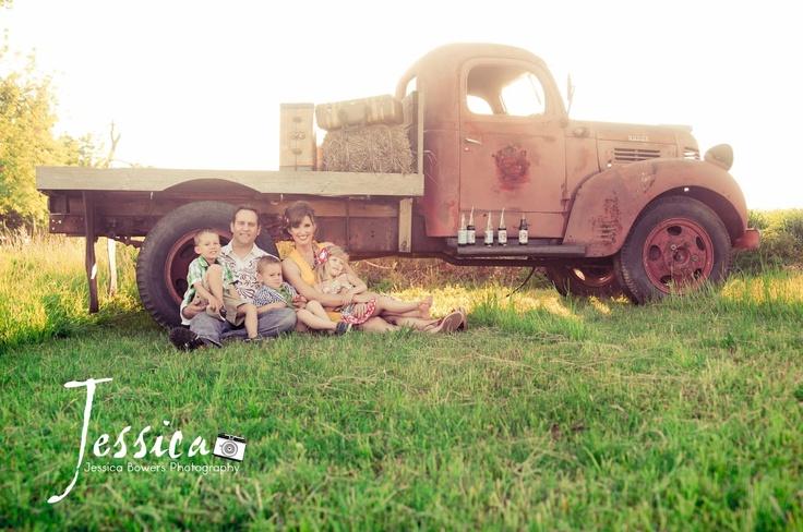 Vintage Family Photoshoot