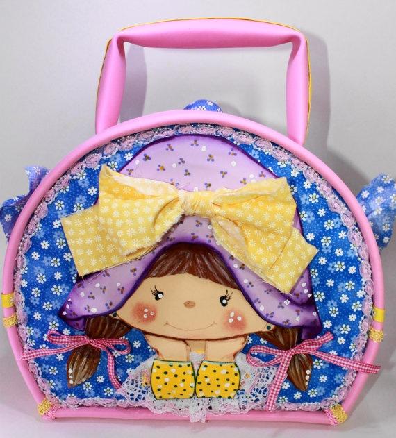 NINA  Little Girl Suitcase by SweetBellaLuna on Etsy, $35.00