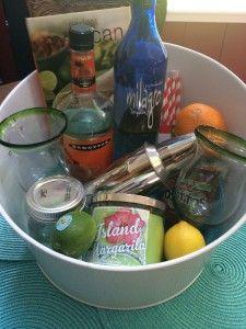 Margarita Gift Basket #hostessgift