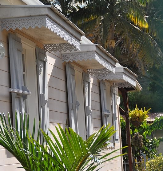 Les cases créoles à la Réunion