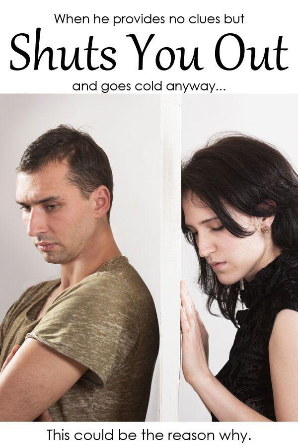 when a man suddenly pulls away