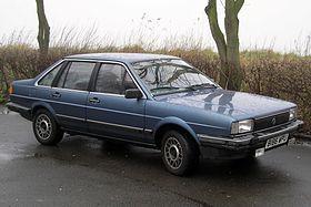 Volkswagen Santana, 3 box sedan – 1981