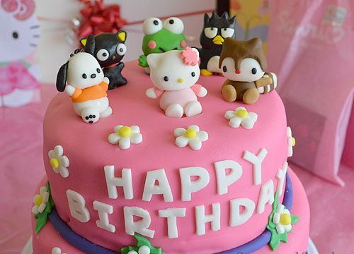 Happy birthday cake for girls with images and pictures