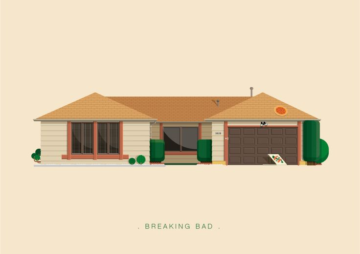 Frederico Birchal, Breaking Bad, Famous Movies & TV Shows Setting, 2015
