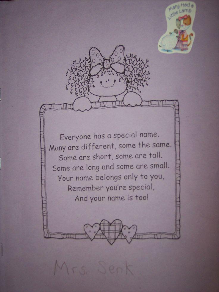 Rhyming « Kindergarten Nana