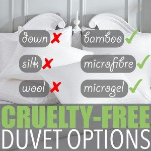 Vegan Bedding by Of Houses and Trees | What goes into collecting the down or silk used for duvet fill? The story isn't pretty, but thankfully vegan bedding is a readily available option. Visit http://ofhousesandtrees.com for posts on architecture, interior design, DIY projects, sustainability, crafts, gardening, home decor and healthy eating.