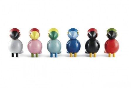 colorful wooden decoration(s), the Rosendahl Kay Bojesen Songbird set