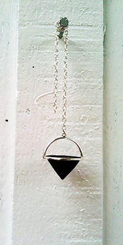 silver & lava pendulum available POA to order  delice@deliceandcreed.com