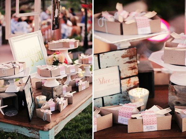 kraft boxes with personalized labels