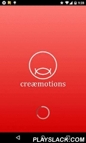 Creaemotions  Android App - playslack.com ,  creaemotions avatar creator, creæmotions, is your free new app. Create your own avatar and other characters. Define your characters, boys & girls, by selecting between lots of features as face, body, skin colors, hair, eyes, beards, moustaches,... and dress them up with your favorite clothes, shoes and other style accessories such hats and sunglasses.Go on defining the character by adding make up, tattoos & piercings to get your favourite…