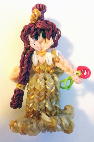 Rainbow Loom Disney Princess Belle