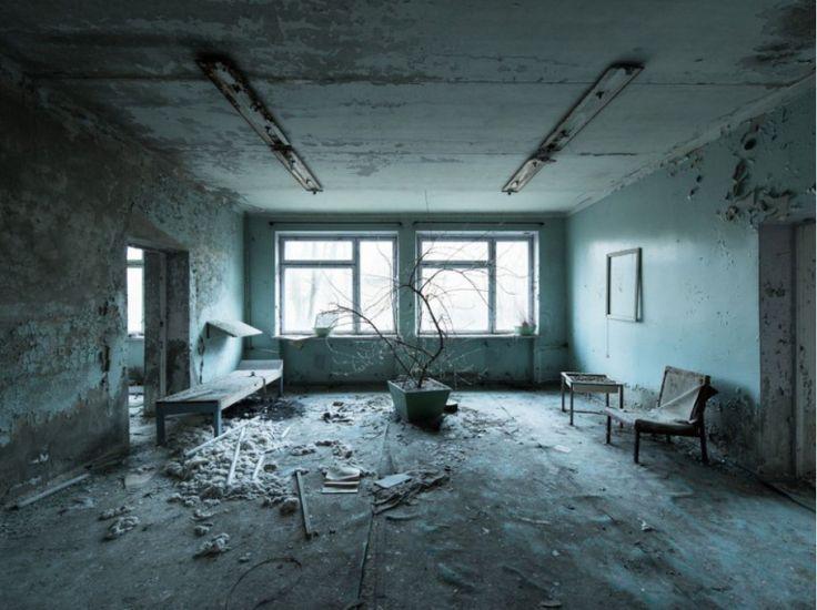 Attente éternelle - Hôpital de Pripiat - David de Rueda