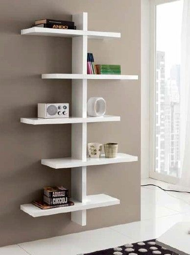 Oltre 25 fantastiche idee su mensole soggiorno su for Mensole libreria