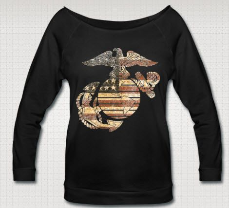 Just got this from http://usmclove-designershop.spreadshirt.com/ to wear when the boy gets back from deployment! #usmc #usmcgf