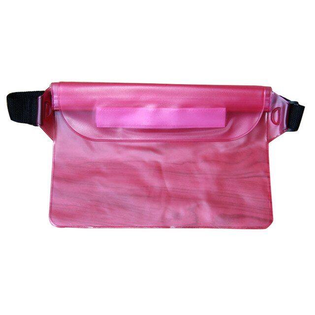 Outdoor sports swimming beach large capacity waterproof waist bag pouch bolsa pequena bum money belt waist bag pouch