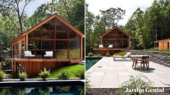 Удивительный дизайн дома  и приусадебного участка. #JardinGenial #ландшафтный_дизайн  #Озеленение #Освещение #Полив #Постройки_на_участке