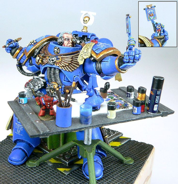 Warhammer 40k painting Warhammer 40k yes I know this!!! sad to say....blister pacs where part of my life once upon a time....