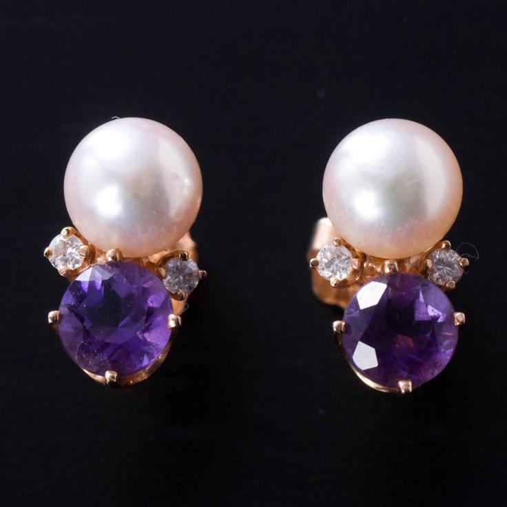 Tiffany Ladies' Earrings In 14k Gold.