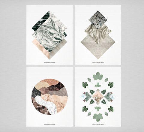 The Minimalist Store x Kristina Krogh limited edition Prints / Set of 4.