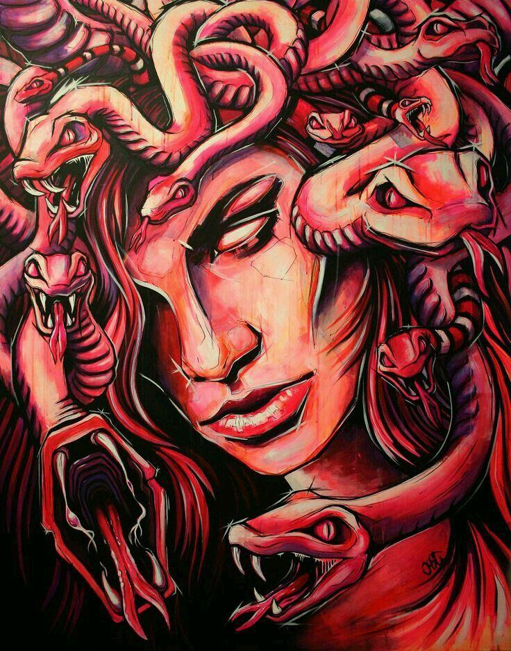 Medusa Artwork Tattoo: 368 Best Images About Medusa