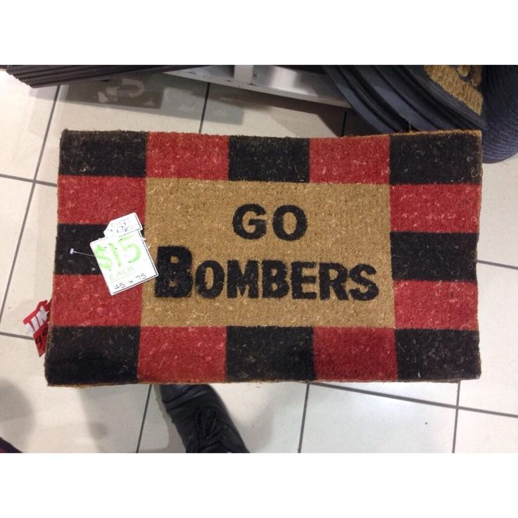 How to know it's a Bomber house.