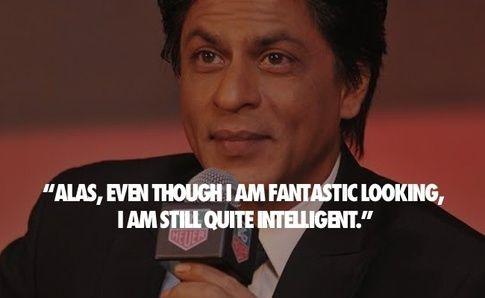 Shahrukh Khan on his intelligence