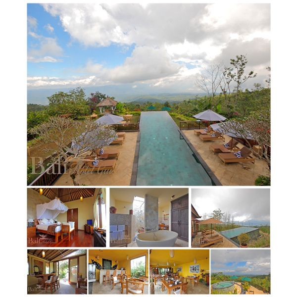 Munduk Moding Plantation is a fresh, natural retreat that features some of the most astonishing views of mountains, valley and sea in all of Bali. The hotel prides itself on a unique philosophy of environmental and cultural preservation, responsible tourism and support for local community.  Click on the link to reserve your room now! http://www.balihotelguide.com/booking/hotels/662/munduk-moding-plantation.aspx