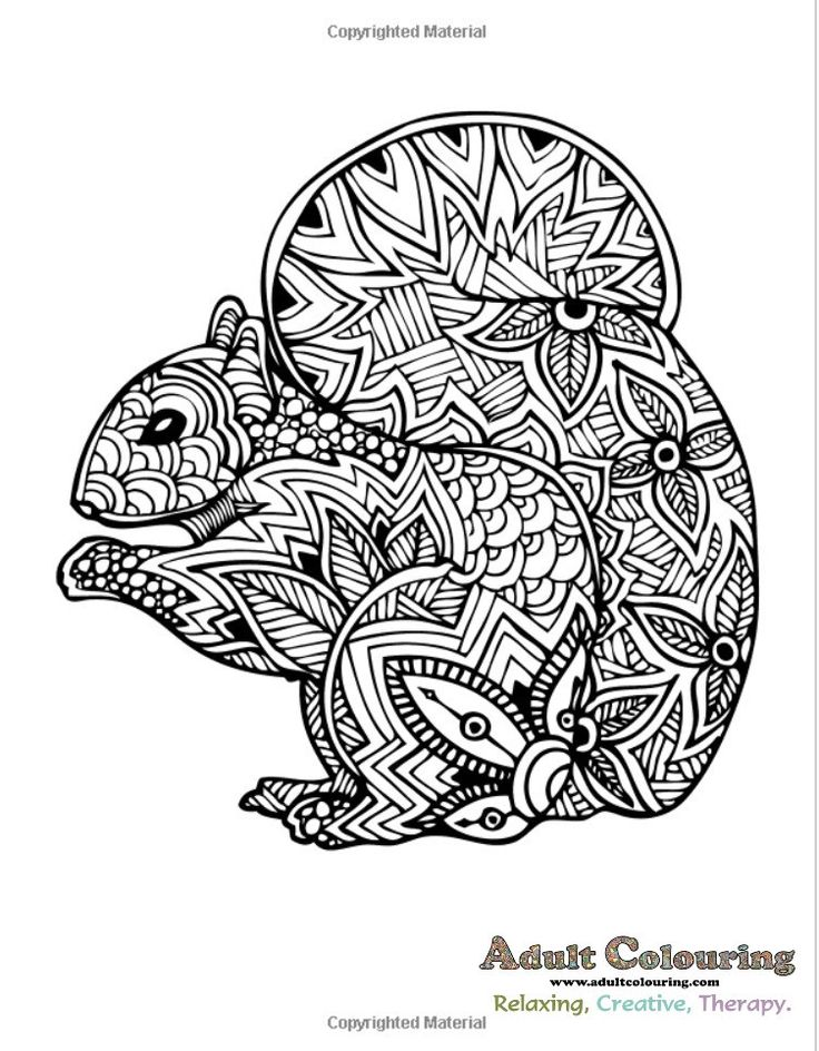 Really Relaxing Colouring Book 11: Wild About Animals ...