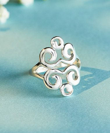 Look what I found on #zulily! Sterling Silver Filigree Ring #zulilyfinds