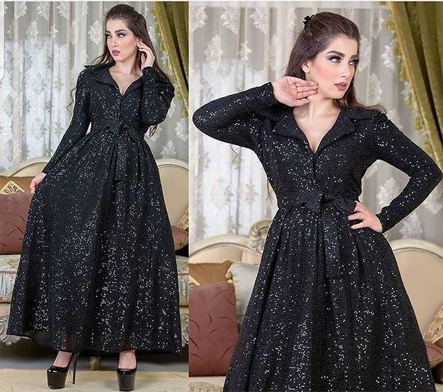 Pin By Alyaqout Alahmar On فساتين In 2021 Dresses Fashion Long Sleeve Dress