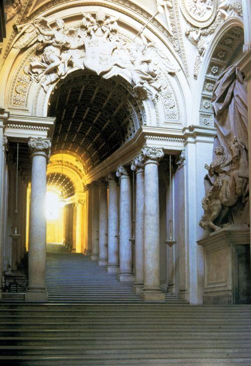 Renaissance Art:Scala Regia (Royal Staircase) ~Gian ...
