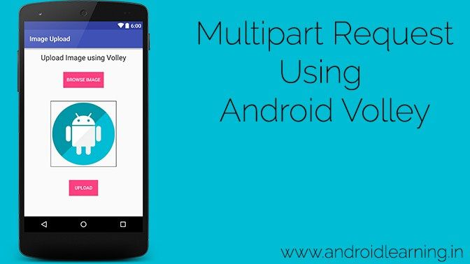 Multipart Request Using Android Volley