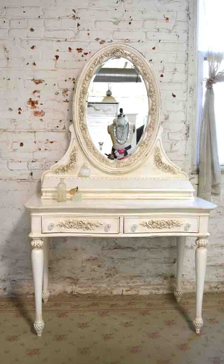 Best 25 french vanity ideas on pinterest vanity table vintage shabby chic vanity dressing table mirror painted cottage make up table in home garden furniture vanities makeup tables geotapseo Gallery