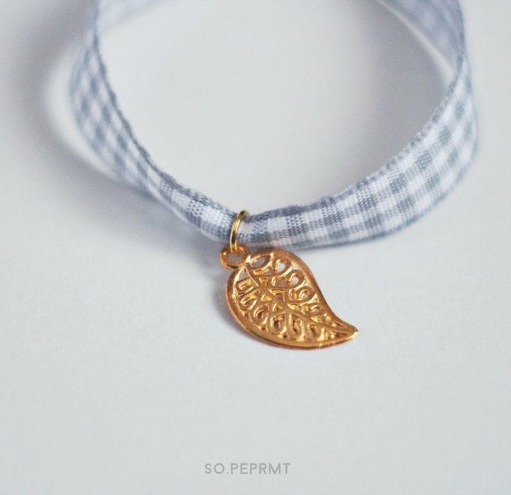 Sju - Paisley (proj. sopeppermint), do kupienia w DecoBazaar.com #sopeppermint #sopeprmt #paisley #bracelet