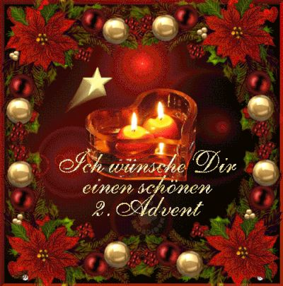 renate-pircher Kreatives Lebensweisheiten - 2. Advent-Bilder-Texte Animationen