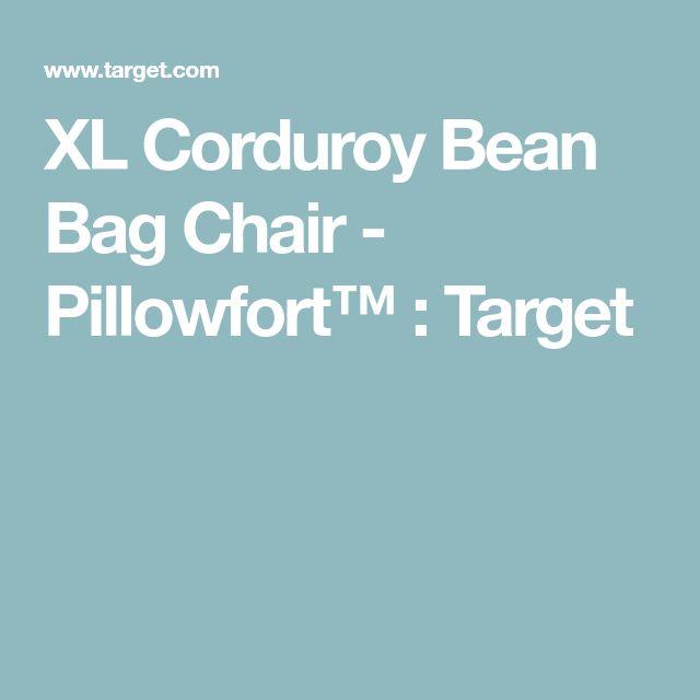 Circo XL Corduroy Bean Bag Chair