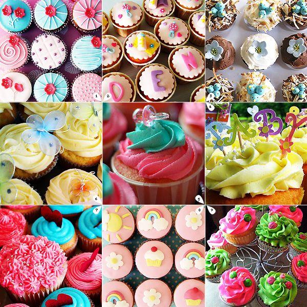 Fazendo a Minha Festa Infantil: Receitas de Cupcakes!