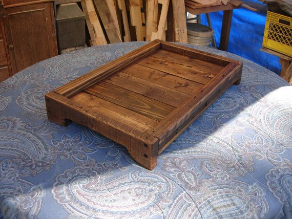 Decorative Ottoman Tray Entrancing 169 Best Wooden Traysimages On Pinterest  Trays Wooden Trays Decorating Design